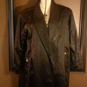Vintage 80s duster jacket